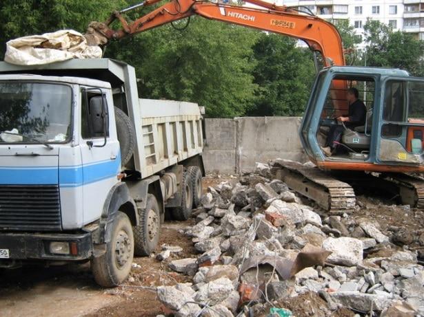 срочный вывоз строительного мусора