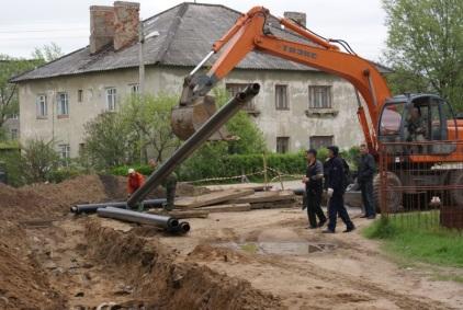 недорогой ремонт теплотрасс и водопровода