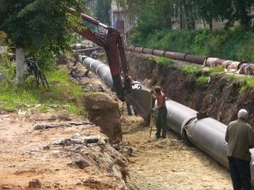 заказать ремонт теплотрасс и водопровода