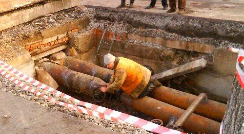Ремонт теплотрасс и водопровода в Москве