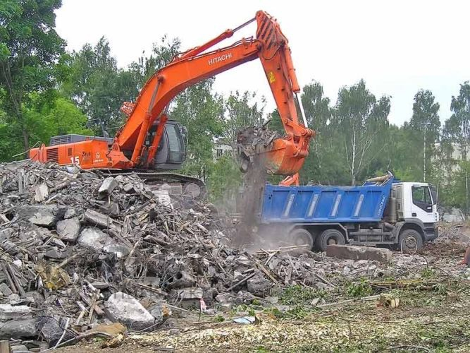 заказать вывоз строительного мусора