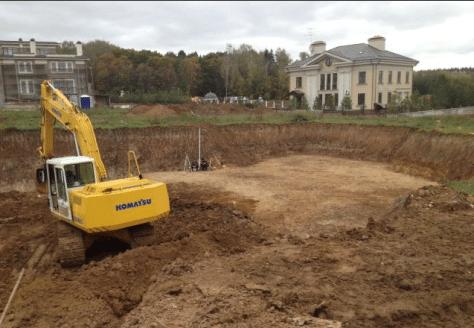 Планировка земли для строительства
