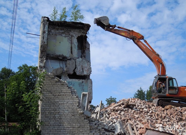 оперативный снос и демонтаж зданий