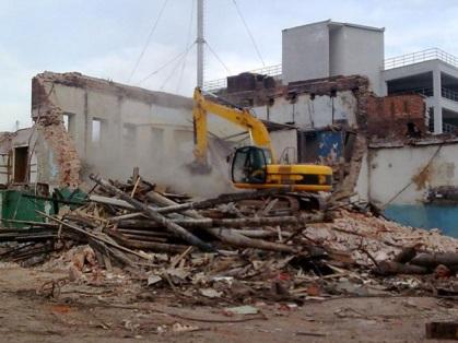 Снос и демонтаж зданий в Москве