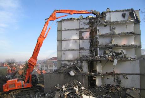 Снос и демонтаж общественных зданий