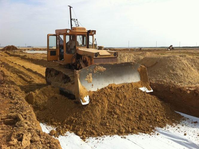 Заказать землеройные работы на участке