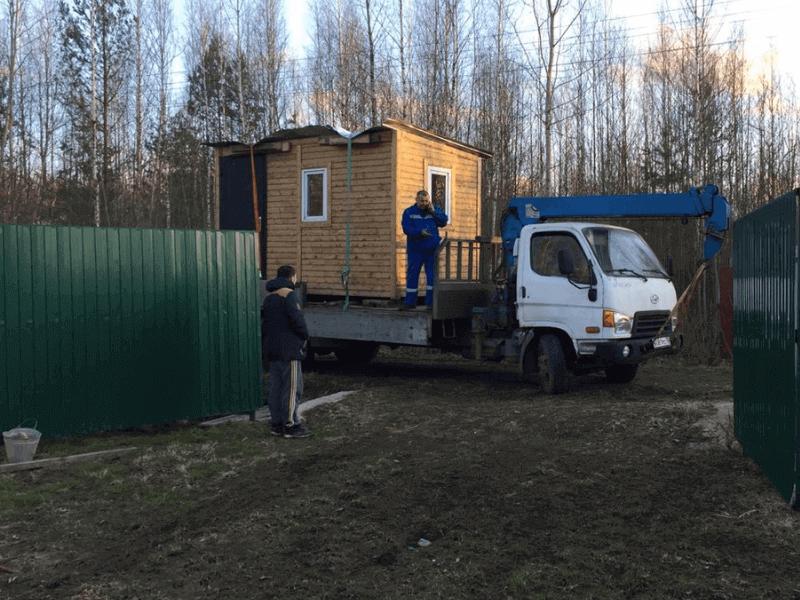 Перевозка дачного домика