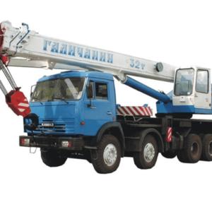 Заказ автокрана 32 тонны